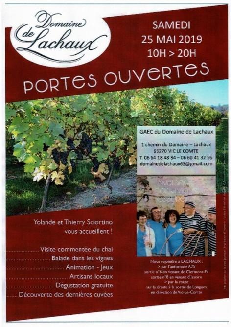 JOURNEE PORTES OUVERTES - de SCIORTINO Thierry et Yolande